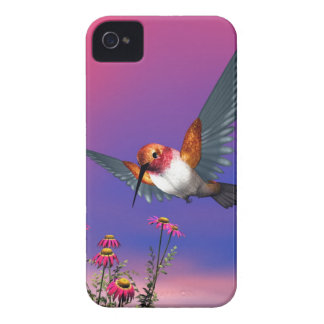 Rufous hummingbird iPhone 4 Case-Mate cases