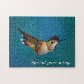 Rufous Hummingbird Jigsaw Puzzle
