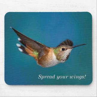 Rufous Hummingbird Mouse Mat