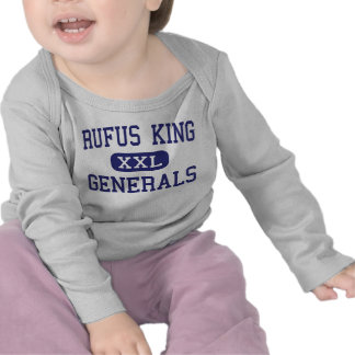 Rufus King - Generals - High - Milwaukee Wisconsin T-shirt