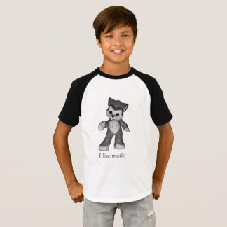 Rufus the Wolf shirt I like math