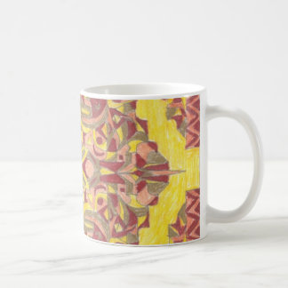 rug design 1 on a mug