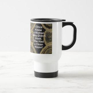 Rug Hooker's Travel Mug