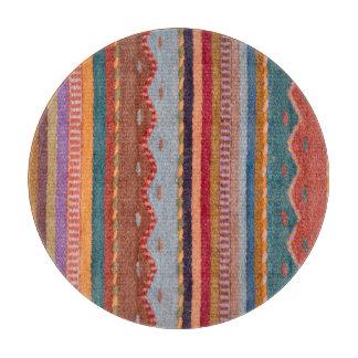 Rug patterns cutting board