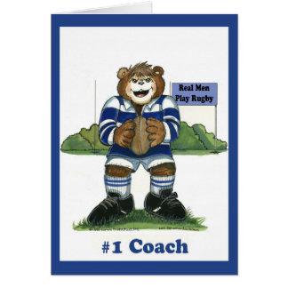 Rugby #1 Coach Card
