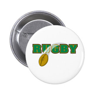 Rugby 6 Cm Round Badge