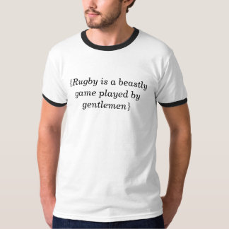 Rugby Aphorism T Shirt