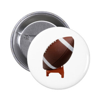Rugby Ball 6 Cm Round Badge
