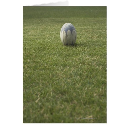 Rugby ball cards