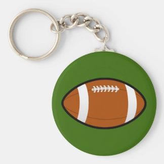 Rugby_ball Keychain