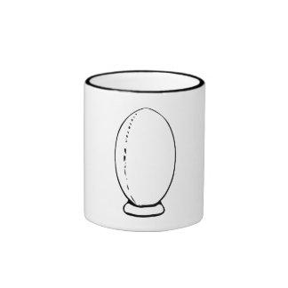 Rugby Ball Coffee Mugs
