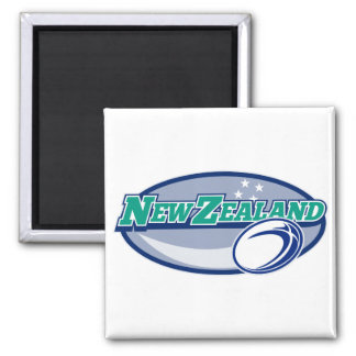 rugby ball new zealand refrigerator magnet