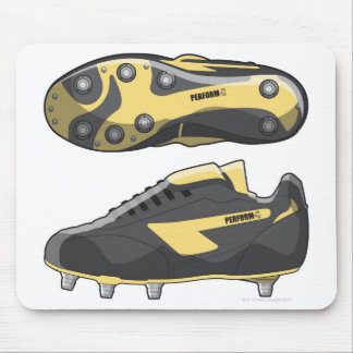 Rugby boots mouse mat