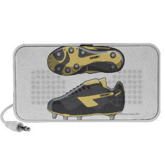 Rugby boots portable speaker