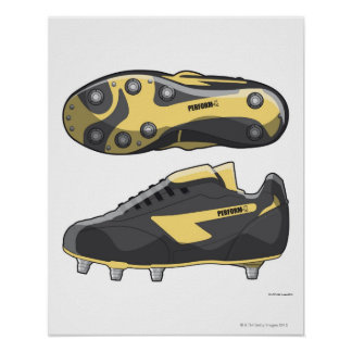 Rugby boots poster