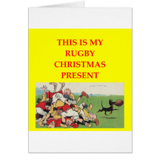 RUGBY CARD
