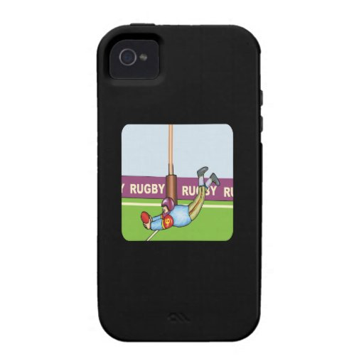 Rugby Vibe iPhone 4 Cases