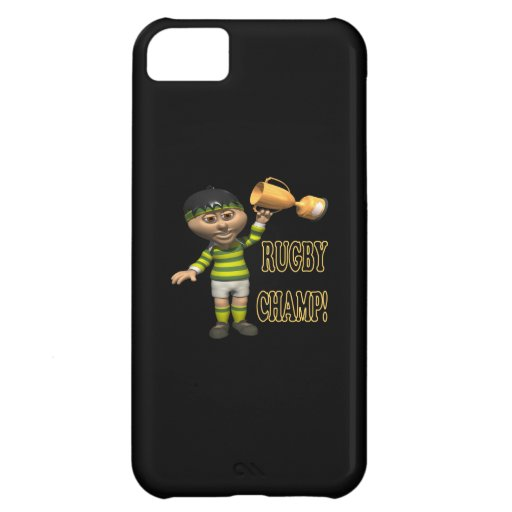 Rugby Champ iPhone 5C Cases