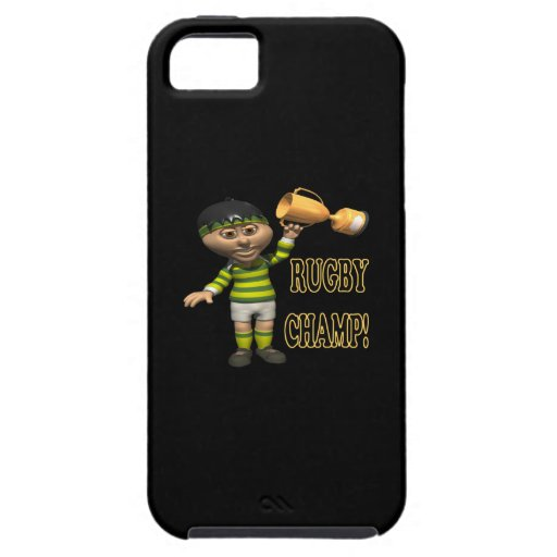 Rugby Champ iPhone 5 Case