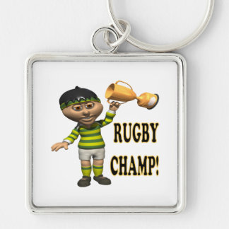 Rugby Champ Keychains
