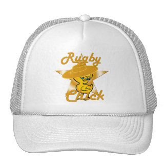Rugby Chick #10 Cap