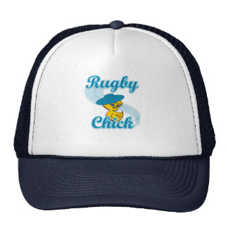 Rugby Chick #3 Mesh Hat