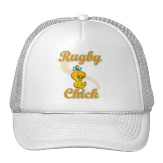 Rugby Chick Trucker Hats