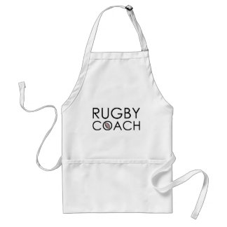 Rugby Coach Adult Apron