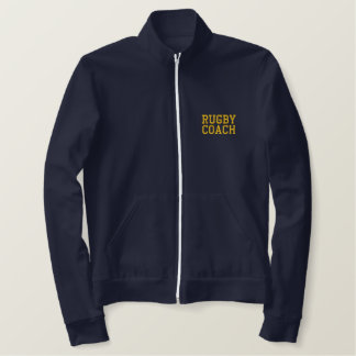 RUGBY COACH EMBROIDERED JACKET