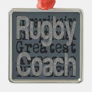 Rugby Coach Extraordinaire Christmas Ornament
