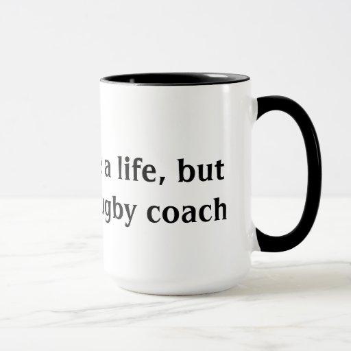 Rugby Coach Mug