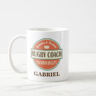 Rugby Coach Personalized Office Mug Gift