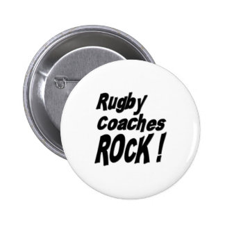 Rugby Coaches Rock Button