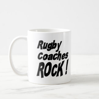 Rugby Coaches Rock! Mug