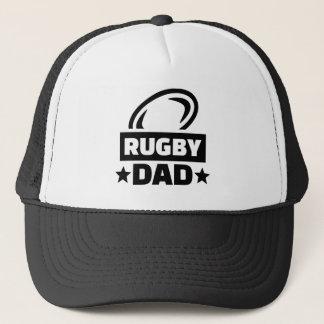 Rugby dad trucker hat