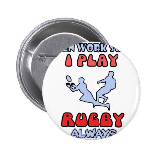 rugby DESIGNS 6 Cm Round Badge