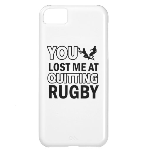 Rugby designs iPhone 5C cover