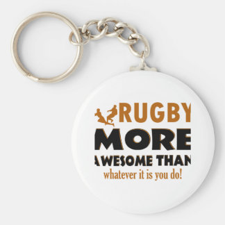 Rugby designs key ring