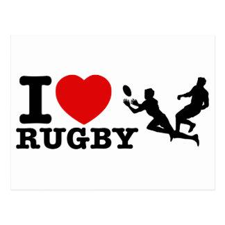 Rugby Designs Postcard