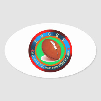 Rugby designs stickers