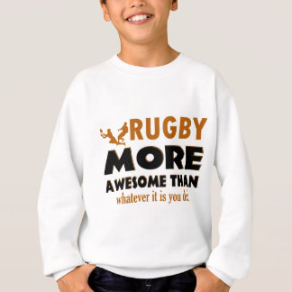 Rugby designs sweatshirt