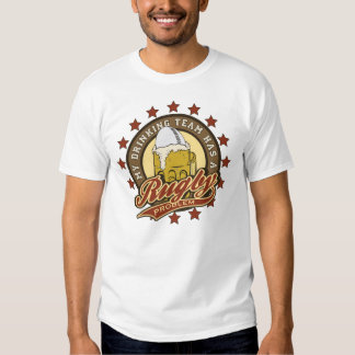 Rugby Drinking Team Tee Shirt