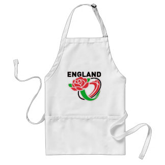 Rugby England English Rose Ball Standard Apron