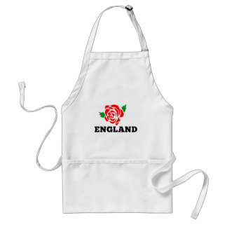 Rugby England English Rose Standard Apron
