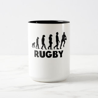 Rugby Evolution Coffee Mug