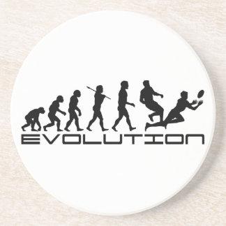 Rugby Football Sport Evolution Art Coaster