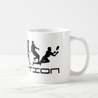 Rugby Football Sport Evolution Art Coffee Mug