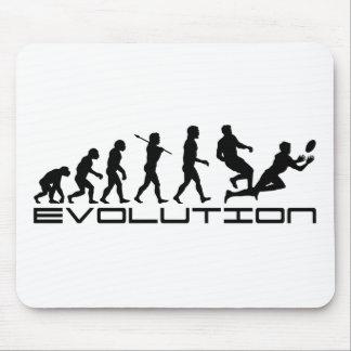 Rugby Football Sport Evolution Art Mouse Mat