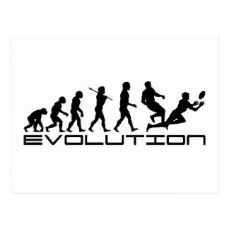 Rugby Football Sport Evolution Art Postcard