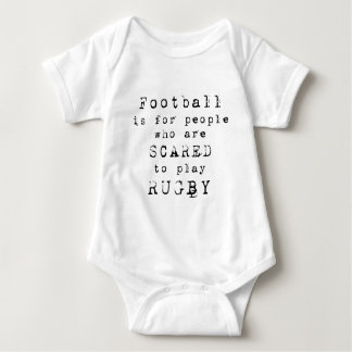 Rugby Football Type.png Baby Bodysuit